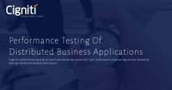 Performance Testing Of Distributed Business Applications