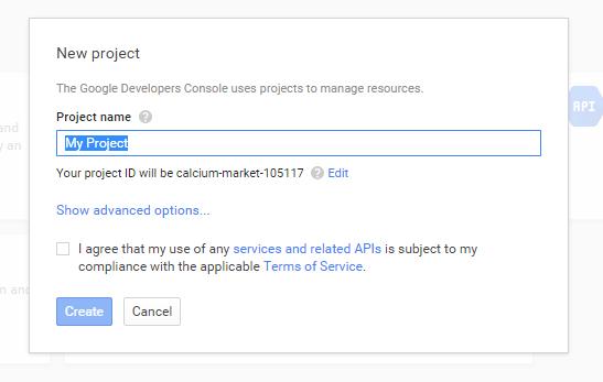 Google API 4