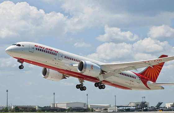 Air India diverts Boeing 787 flight