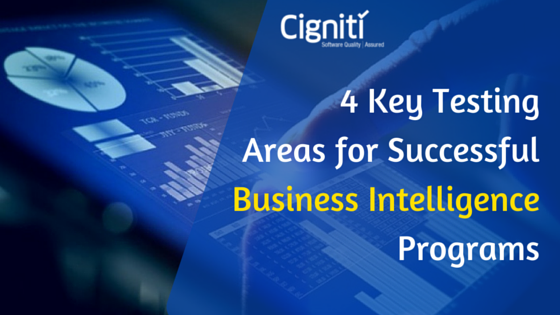 4 Key Testing Areas for Successful Business Intelligence Programs