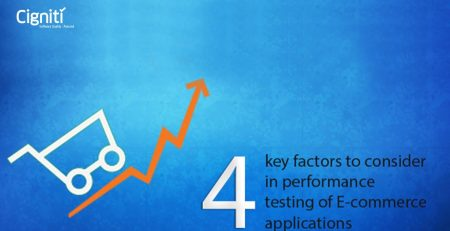 4 key factors to consider in performance testing of E-commerce applications