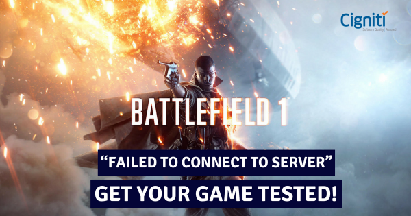 """FAILED TO CONNECT TO SERVER"": Get Your Game Tested!"