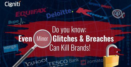 Do You Know: Even Minor Glitches & Breaches Can Kill Brands!