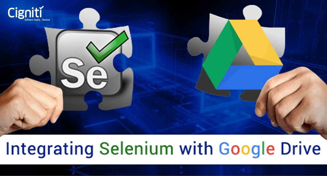 Integrating Selenium with Google Drive