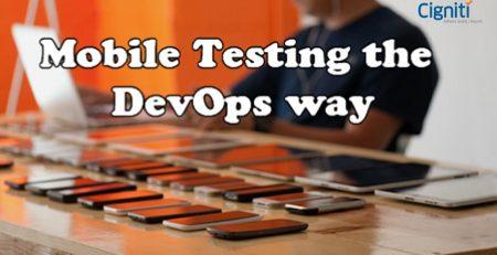 Mobile Testing the DevOps way