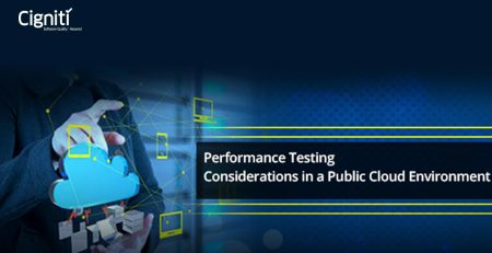 Performance Testing Considerations in a Public Cloud Environment