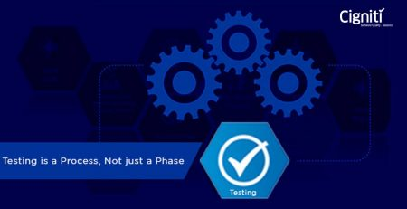 Testing is a Process, not just a Phase