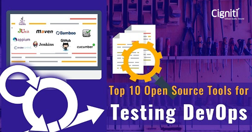 Top 10 Open Source Tools for DevOps Testing|Cigniti technologies