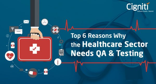 Top 6 Reasons Why the Healthcare Sector Needs QA & Testing