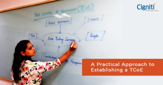 Test Center of Excellence approach