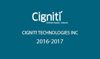 Cigniti Technologies Inc 2016-2017