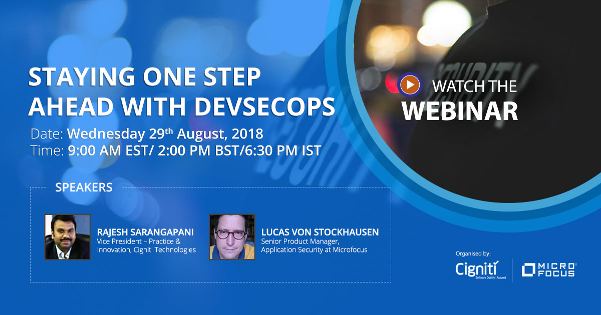 Staying one step ahead with DevSecOps