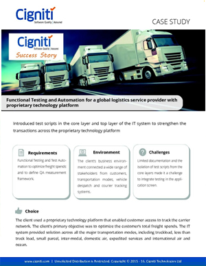functional-testing-automation-global-logistics-service-provider-proprietary-technology-platform