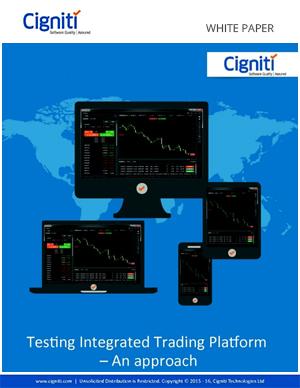 trading platform test